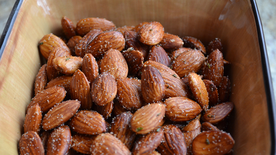 Seasoned Almonds