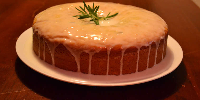 Lemon & Rosemary Olive Oil Cake