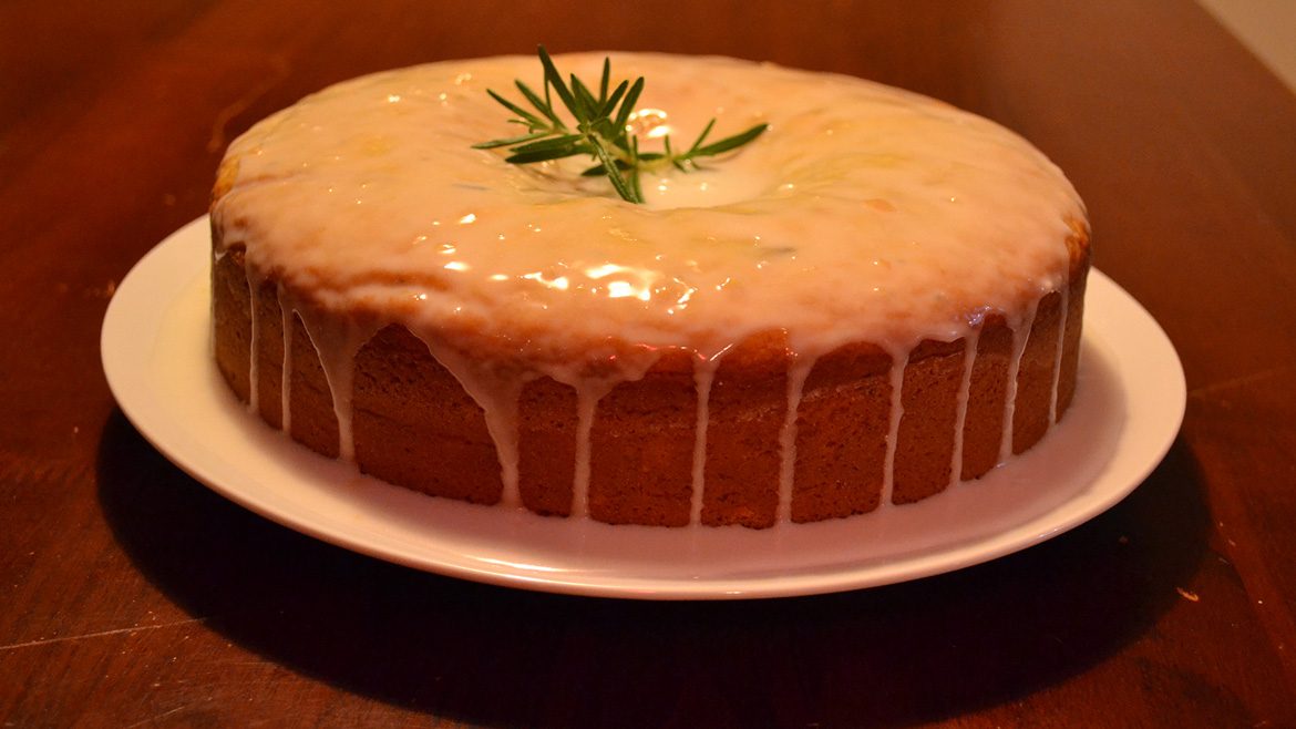 The French Olive | Lemon & Rosemary Olive Oil Cake
