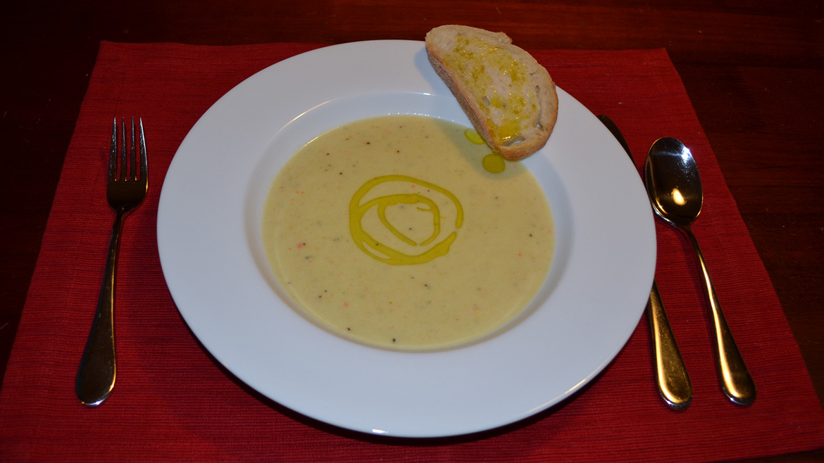 The French Olive | Leek Soup