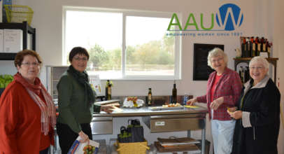 The French Olive hosts AAUW from Escalon, CA