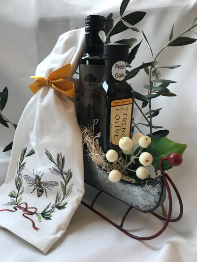 The French Olive | Sleigh Gift Set