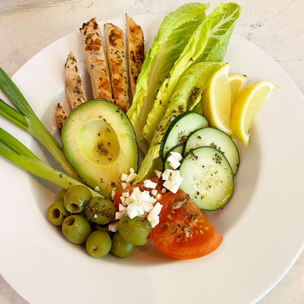 TFO | Mediterranean Chicken Salad