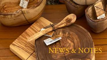 New Handcrafted Olive Wood Products